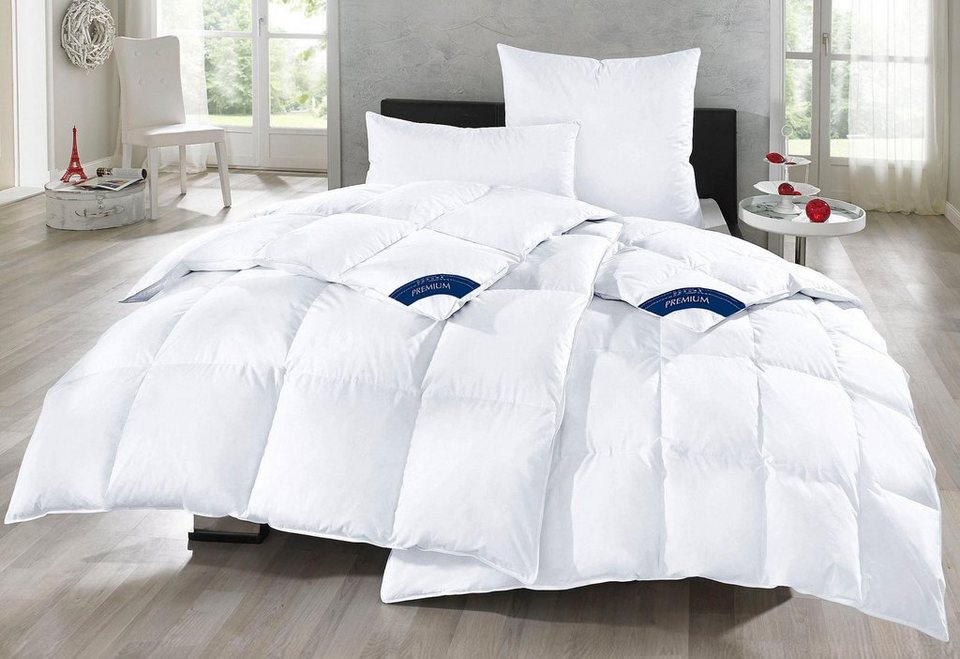 set daunenbettdecken kopfkissen otto keller extrawarm online kaufen otto. Black Bedroom Furniture Sets. Home Design Ideas
