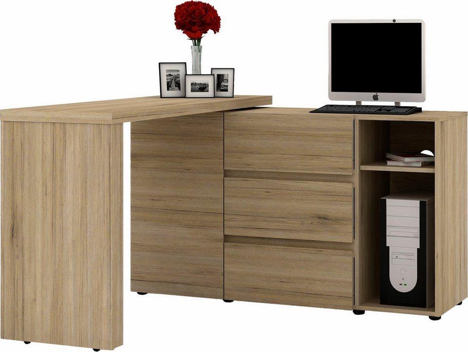 jahnke eck schreibtisch cu libre function kaufen otto. Black Bedroom Furniture Sets. Home Design Ideas