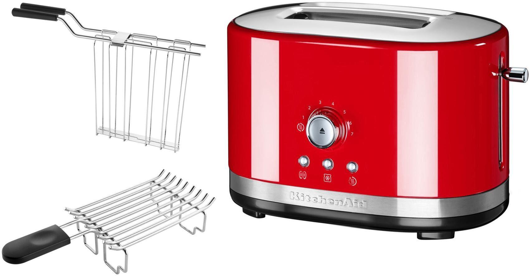 KitchenAid 2-Scheiben Toaster 5KMT2116EER, empire rot
