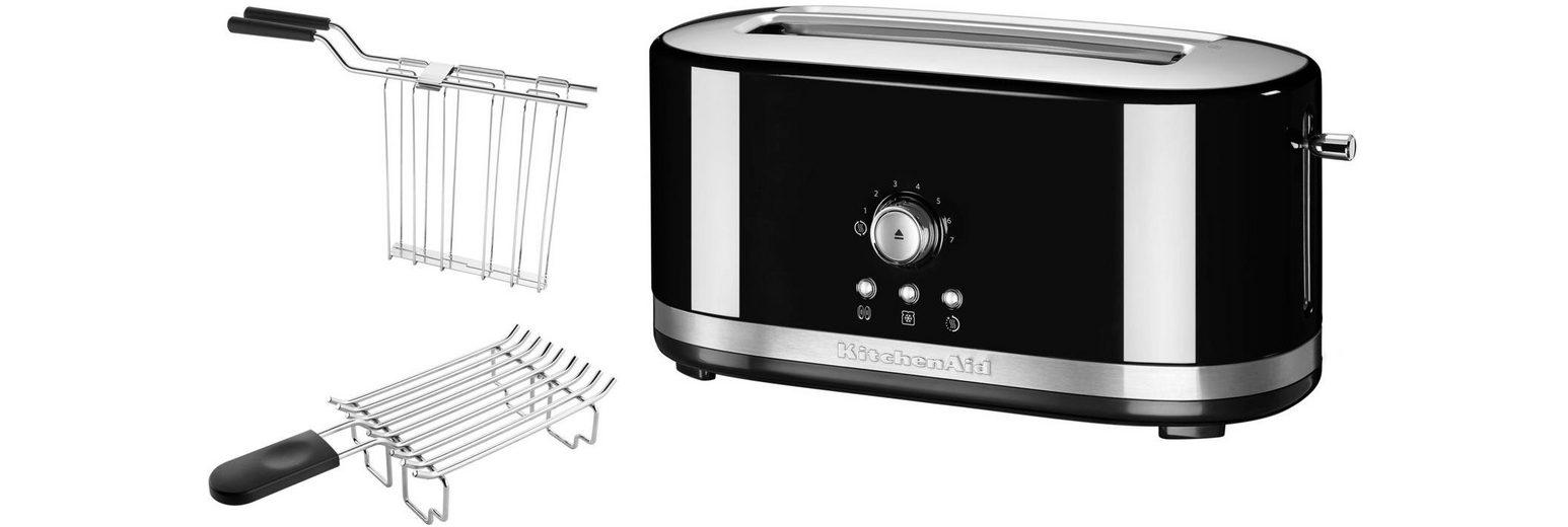 KitchenAid® manueller Langschlitztoaster 5KMT4116EOB, onxy schwarz