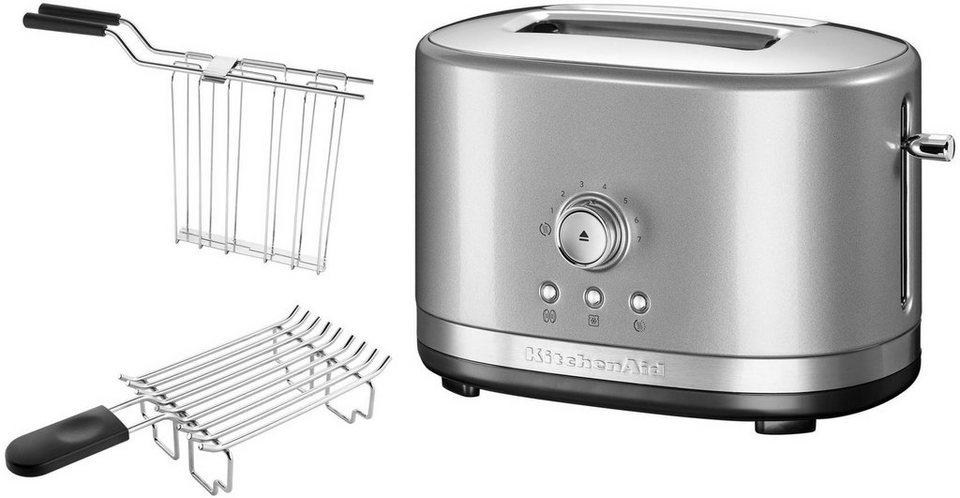 KitchenAid® 2-Scheiben Toaster 5KMT2116ECU, contur-silber in contur-silber