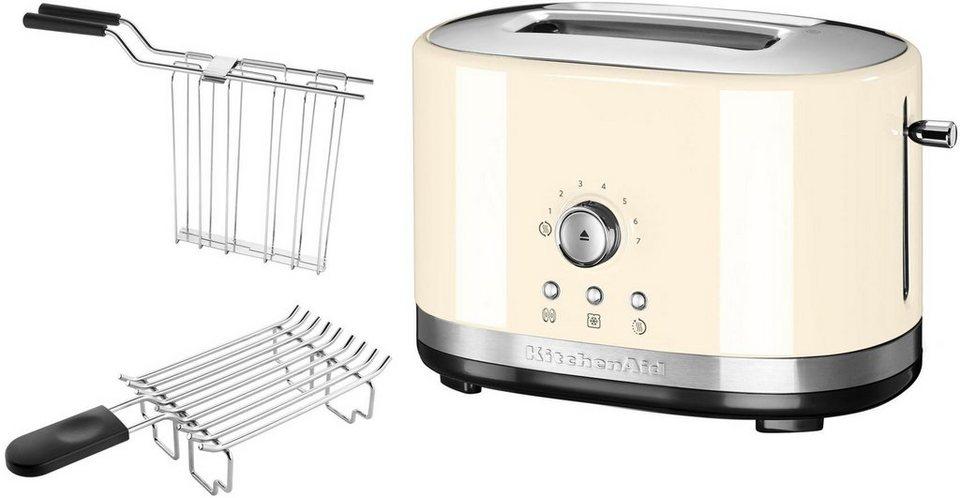 KitchenAid® 2-Scheiben Toaster 5KMT2116EAC, crème in crème
