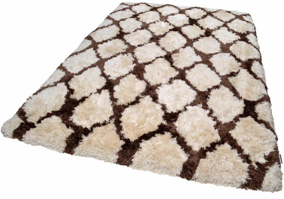 hochflor teppich tom tailor flocatic pattern h he 65. Black Bedroom Furniture Sets. Home Design Ideas