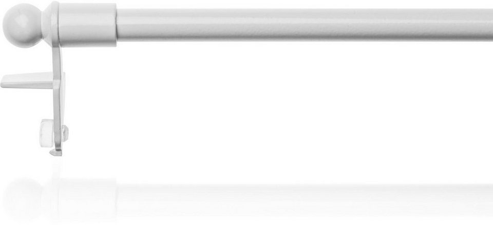 Gardinenstange, Lichtblick, »Easy«, ausziehbar, ohne Bohren, ø 7-10 mm 1-läufig im Fixmaß in weiß