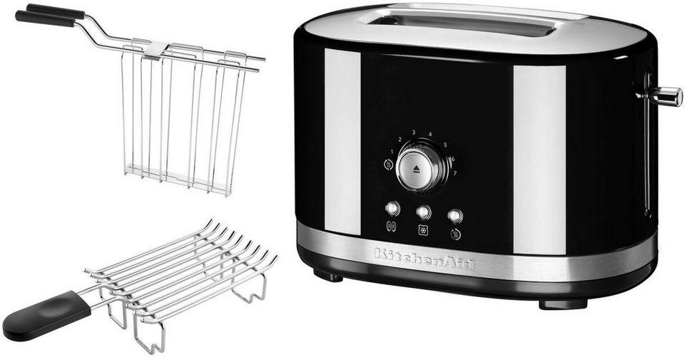 KitchenAid® 2-Scheiben Toaster 5KMT2116EOB, onxy schwarz in onxy schwarz