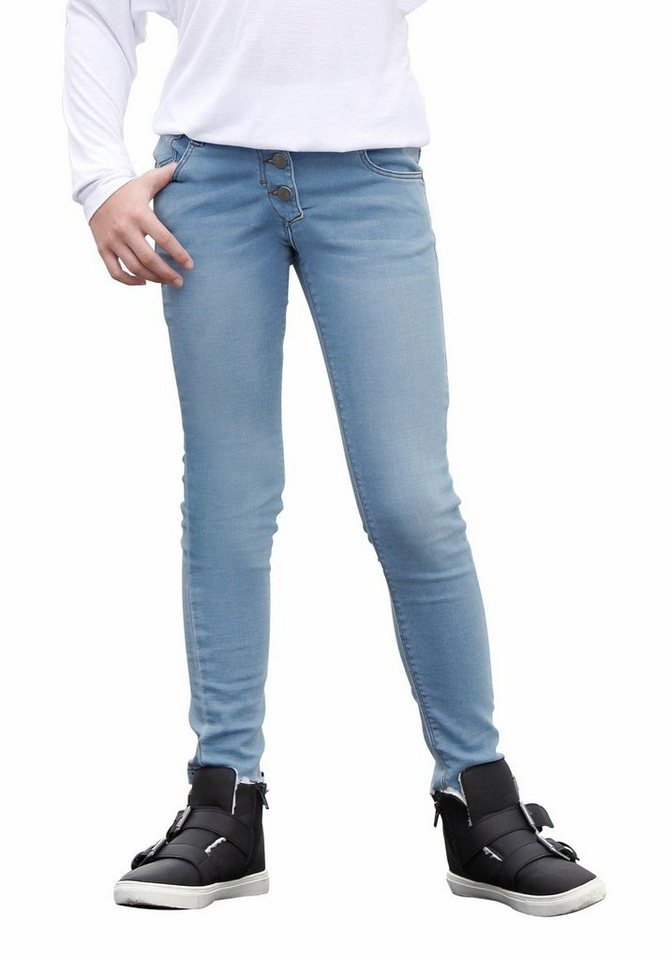 Bench Sweatjeans Super Skinny in light-blue