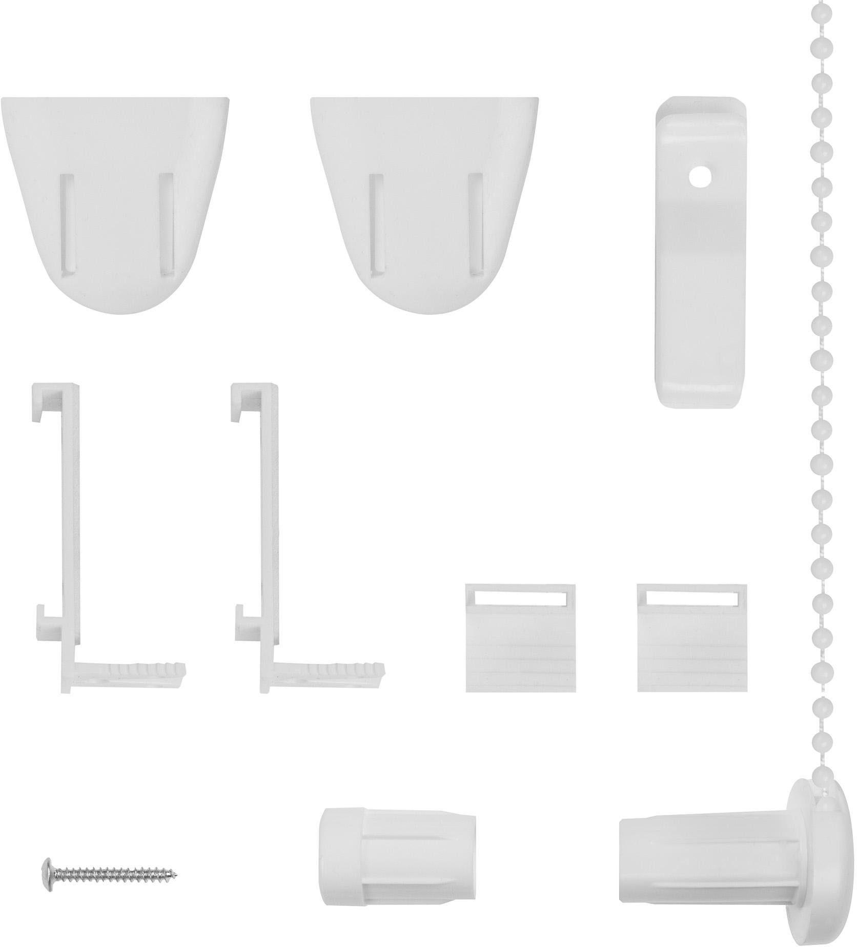 Montagezubehör-Set, Lichtblick, Ersatzteil-Set, für Klemmfix Rollo RKV