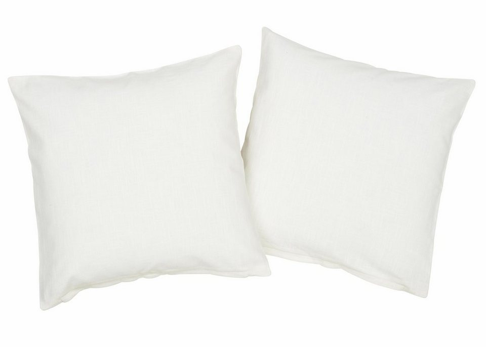 Kissenhüllen, my home, »Henford« (2 Stück) in weiß