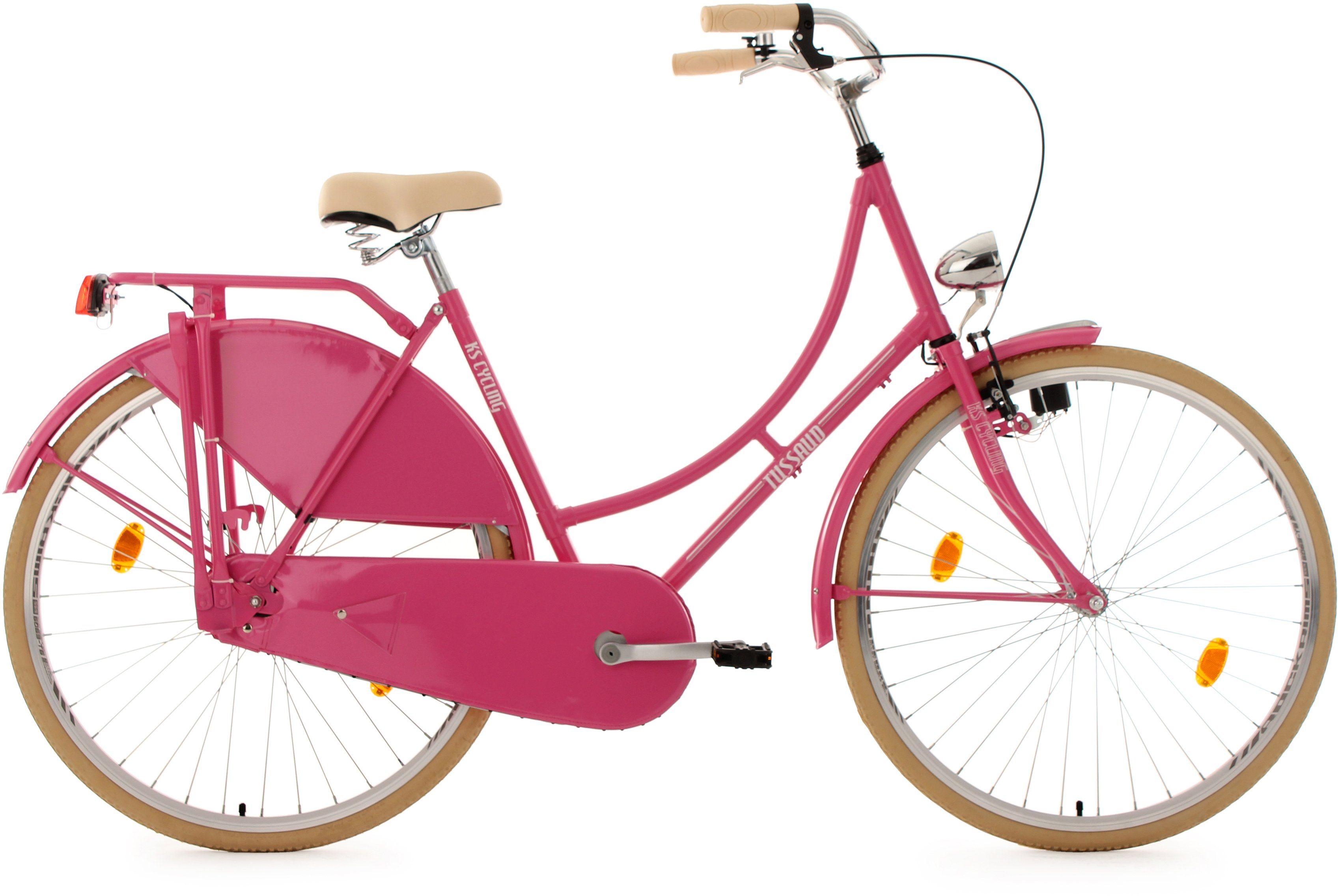 KS Cycling Hollandrad, 28 Zoll, pink, »Tussaud«