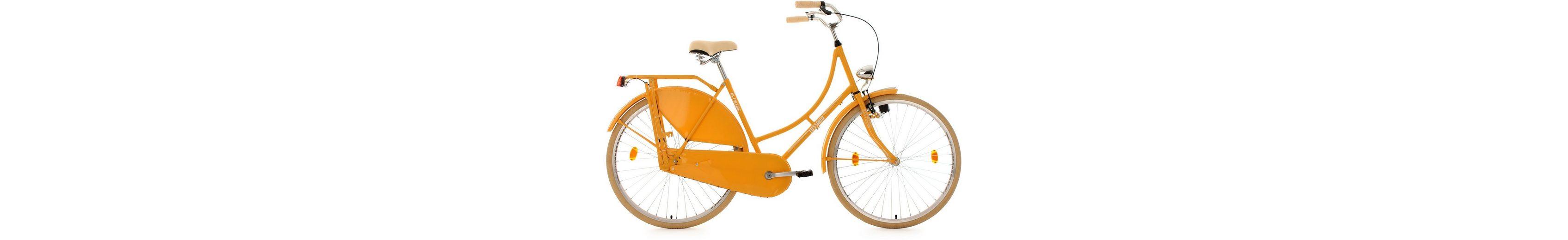 KS Cycling Hollandrad, 28 Zoll, gelb, »Tussaud«