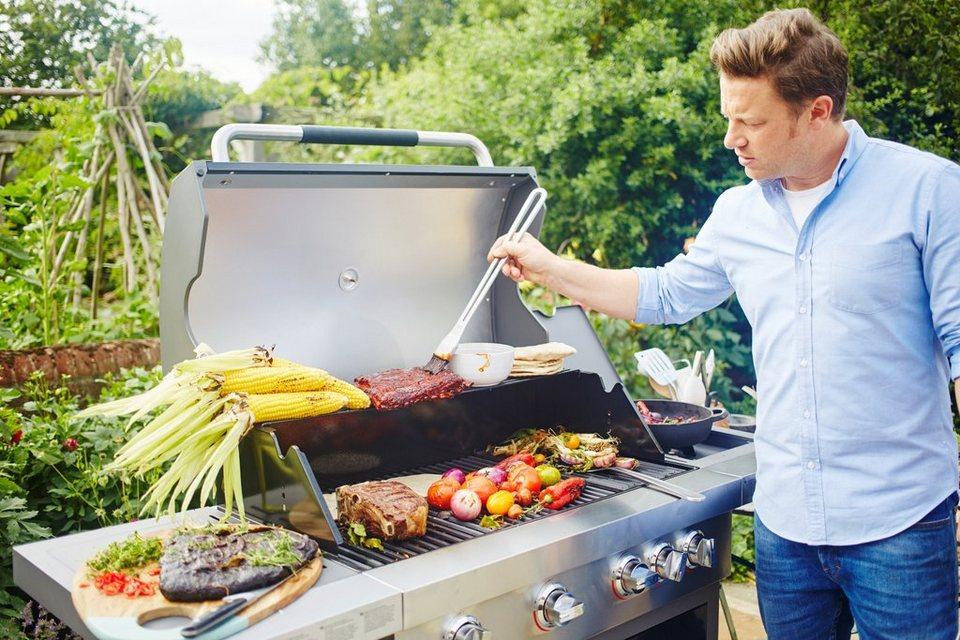 Gasgrill »Jamie Oliver BBQ PRO 4« in schwarz