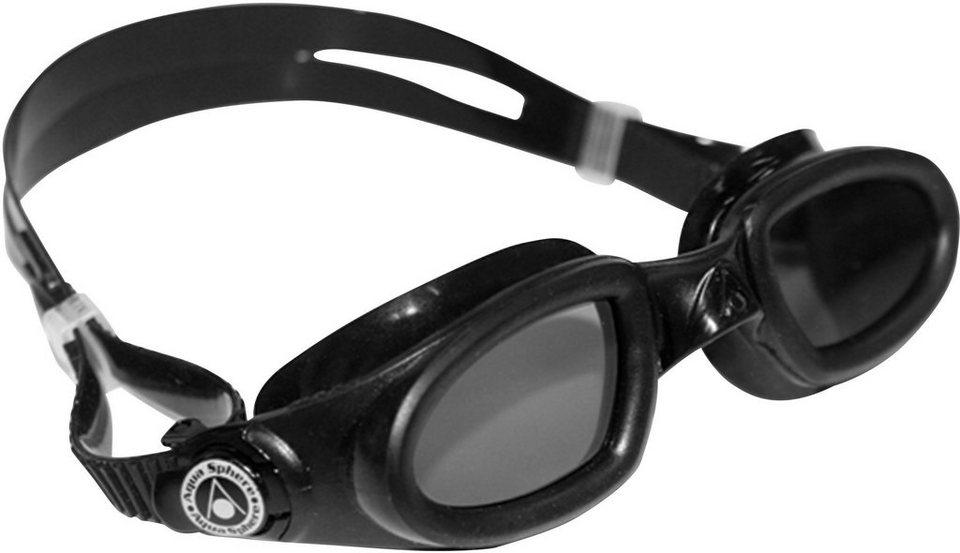 SCHWIMMBRILLE, Aqua Sphere, »MAKO getöntes Glas« in schwarz