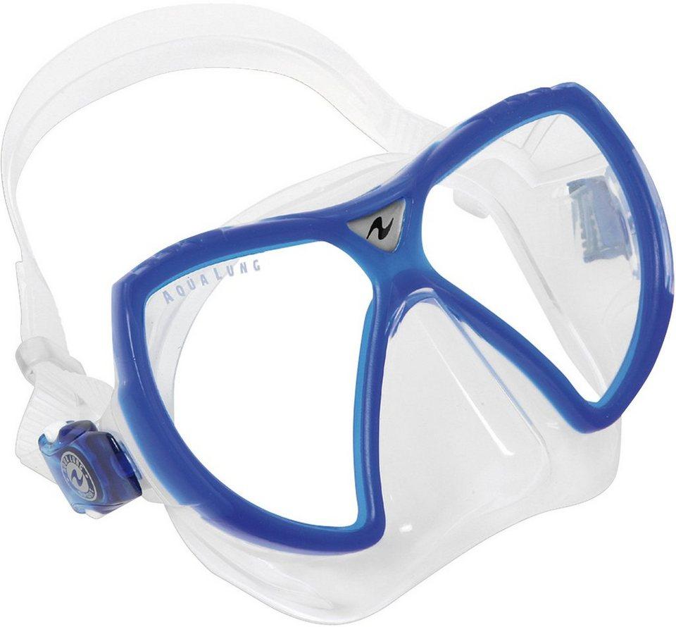 TAUCHMASKE, Aqua Lung Sport, »VISIONFLEX LX« in blau