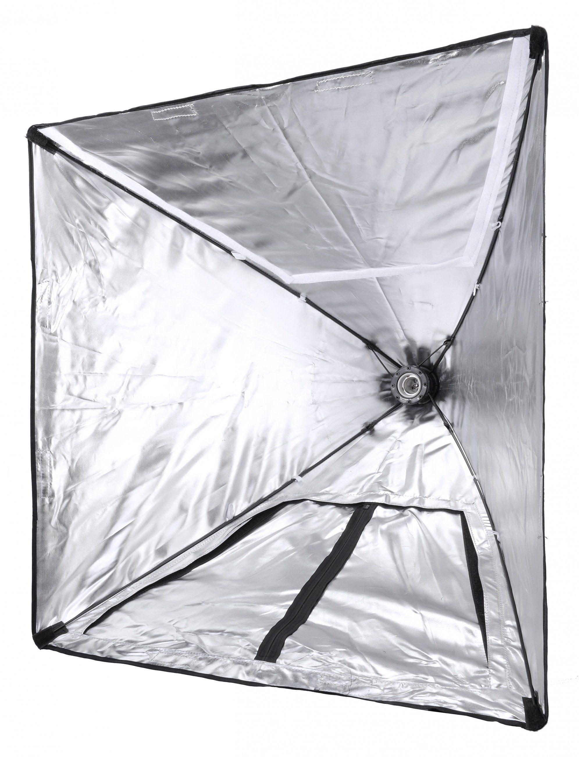BRESSER Fotostudio »BRESSER SS-28 Fotozelt + Power Softbox mit Lampenf«