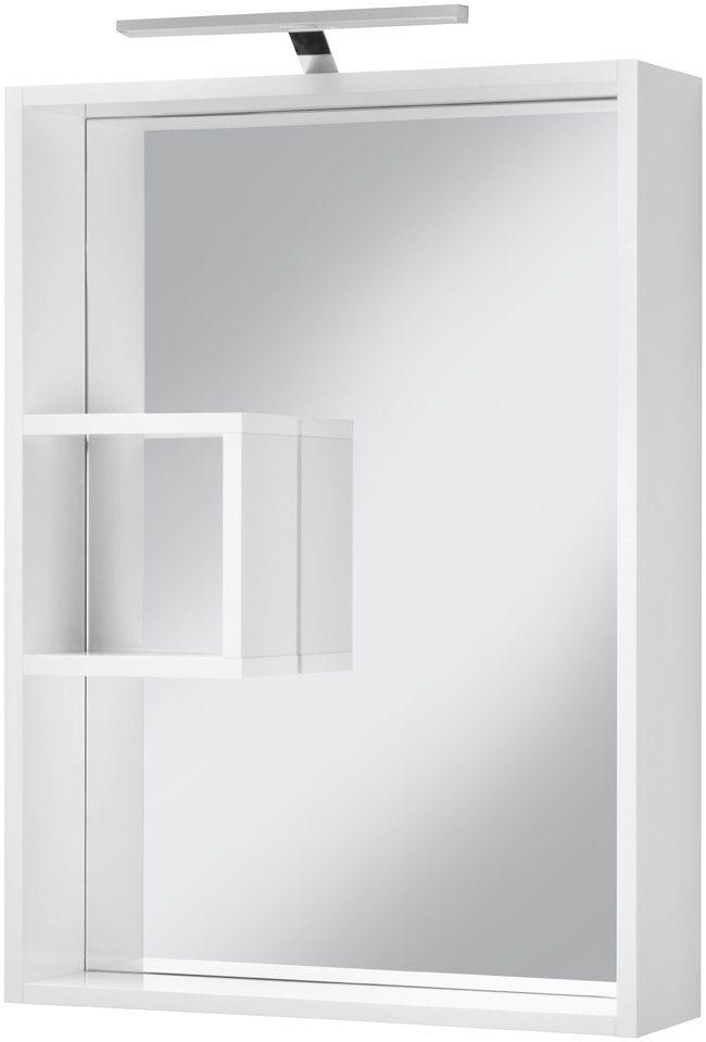 Spiegelschrank »Fiona« Breite 53 cm, mit LED-Beleuchtung in weiß