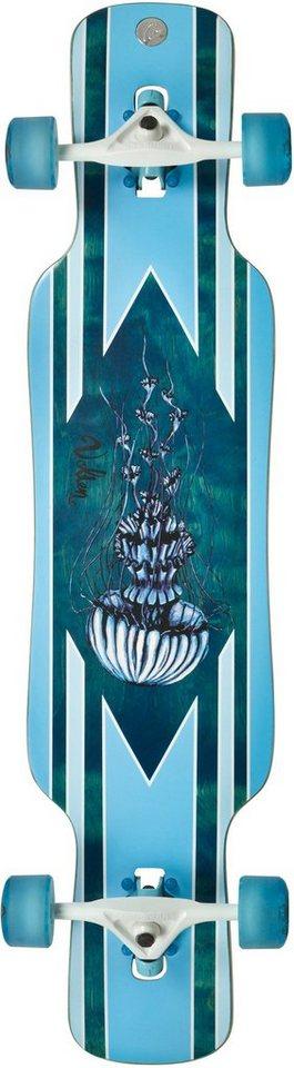 Volten Longboard, blau, »Gambler Dropthrough« in blau