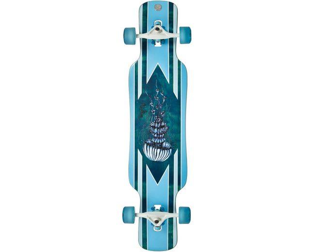 Volten Longboard, blau, »Gambler Dropthrough«