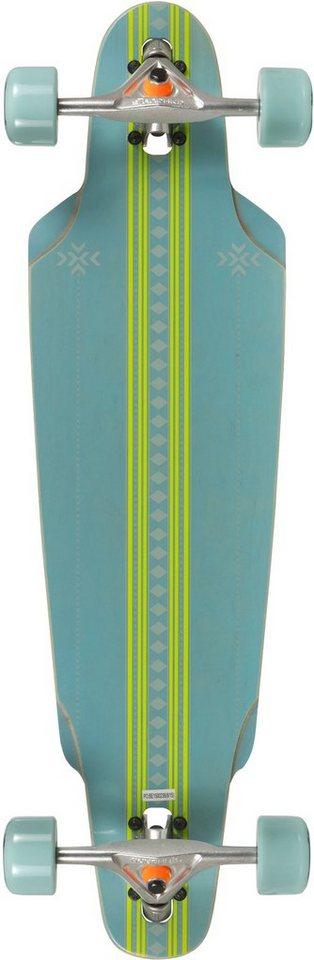 Choke Longboard, blau-grün, »The Curl Elite« in blau-grün