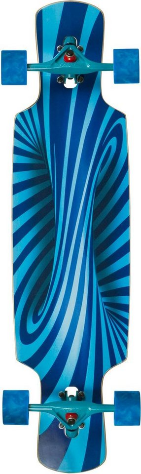 Choke Longboard, blau, »Trick Lollipop Elite Dropthrough« in blau