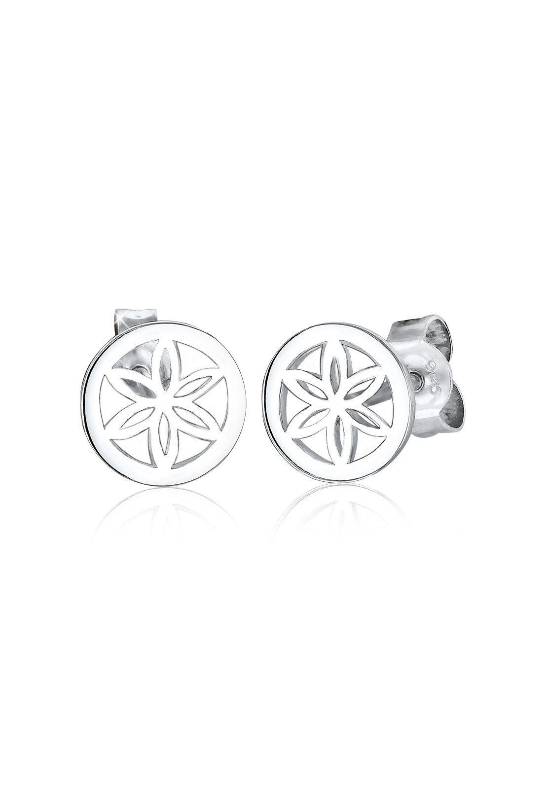 Elli Ohrringe »Blume Ornament Filigran 925 Silber«