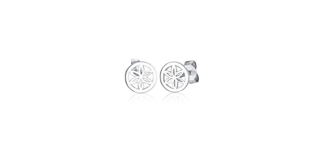 Elli Ohrringe »Blume Ornament 925 Silber«