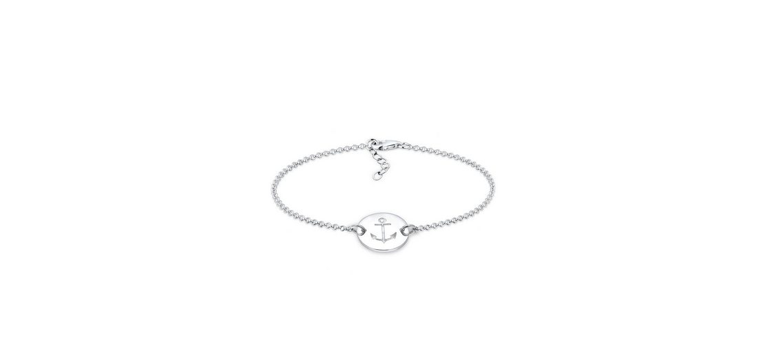 Elli Armband »Anker Silber«