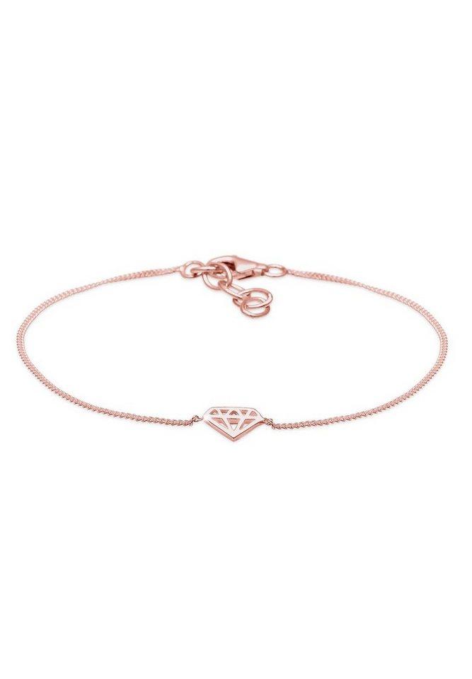 Elli Armband »Diamant ROSÉGOLD« in Rosegold