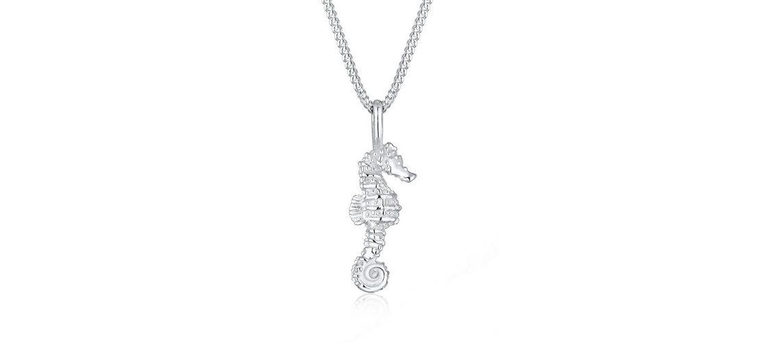 Elli Halskette »Seepferdchen Maritim 925 Silber«