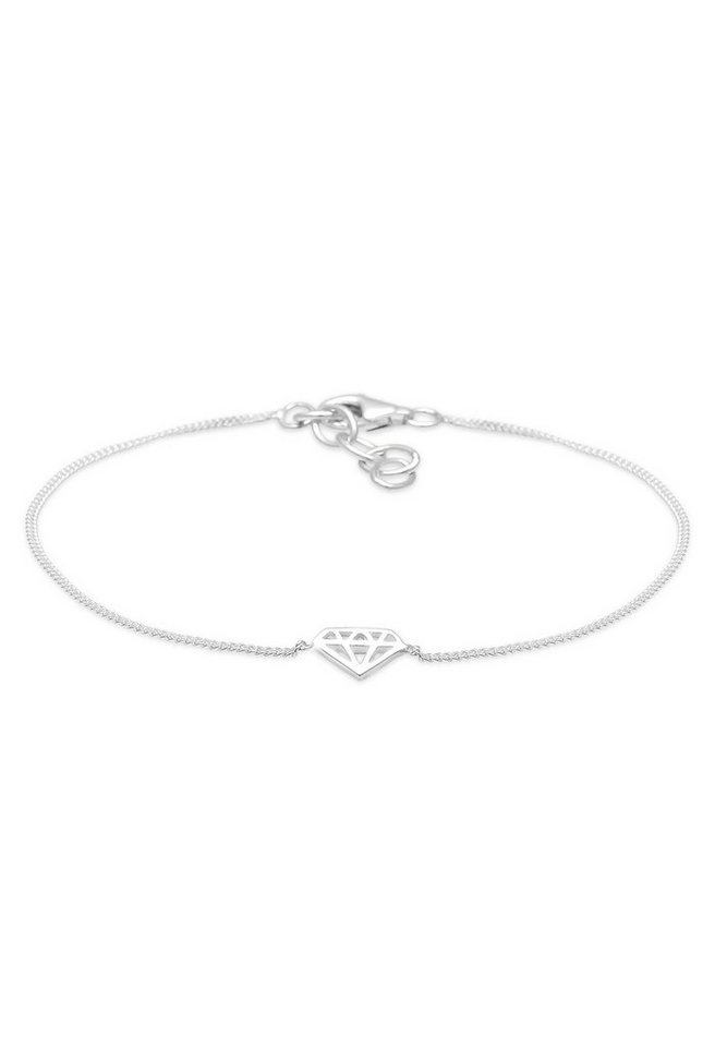 Elli Armband »Diamant Silber« in Silber