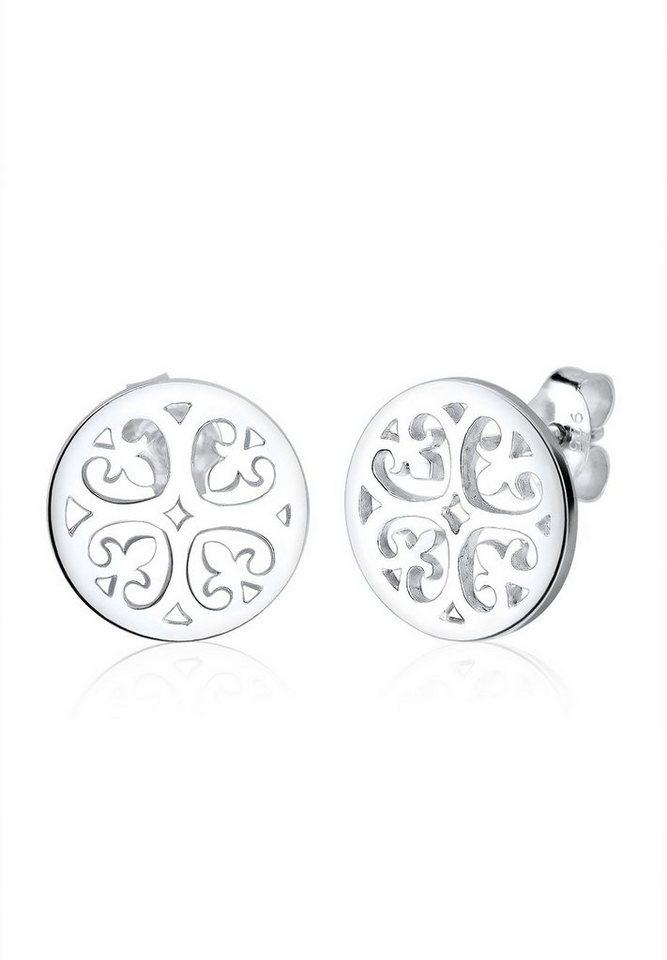 Elli Ohrringe »Ornament Orientalisch Filigran 925 Silber« in Silber