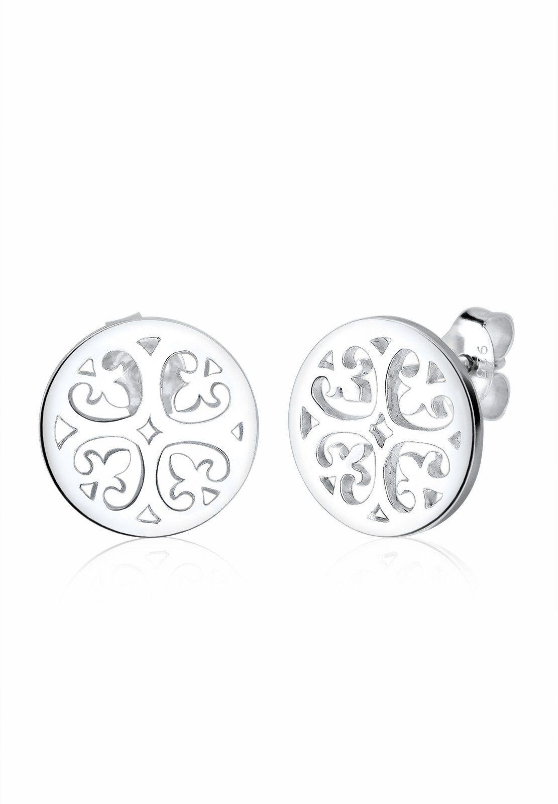 Elli Ohrringe »Ornament Orientalisch Filigran 925 Silber«
