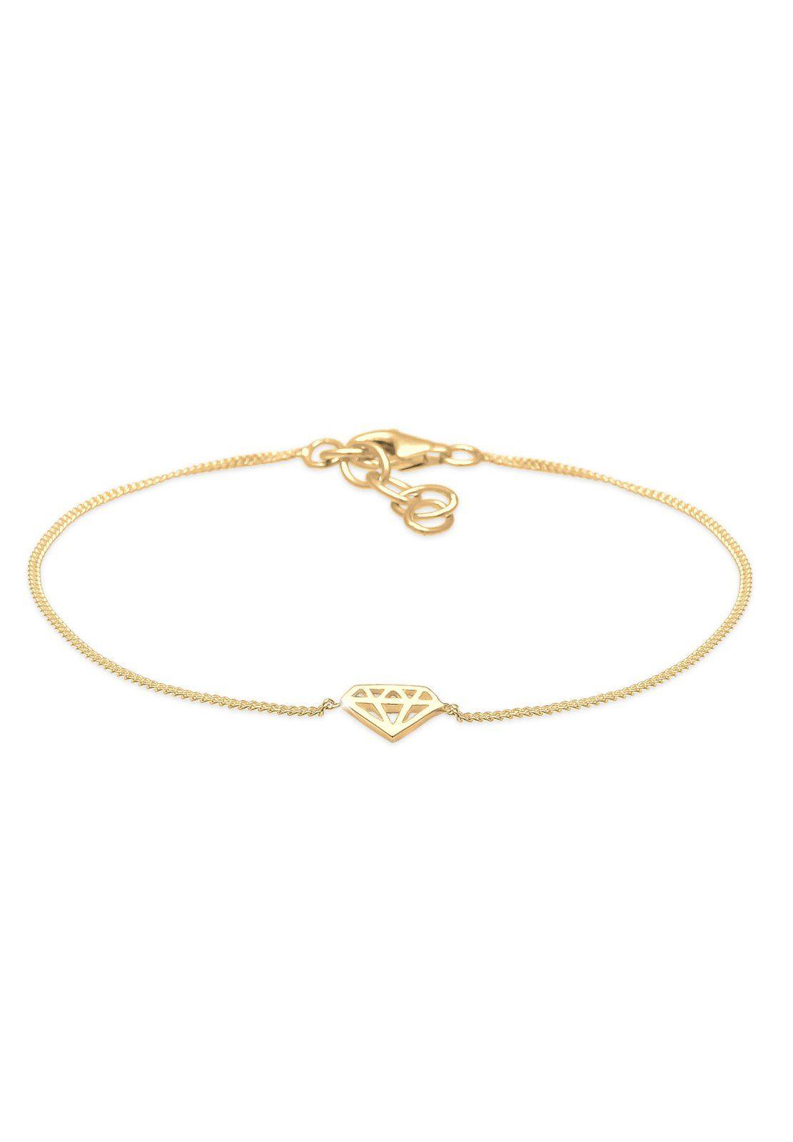 Elli Armband »Diamant vergoldet«