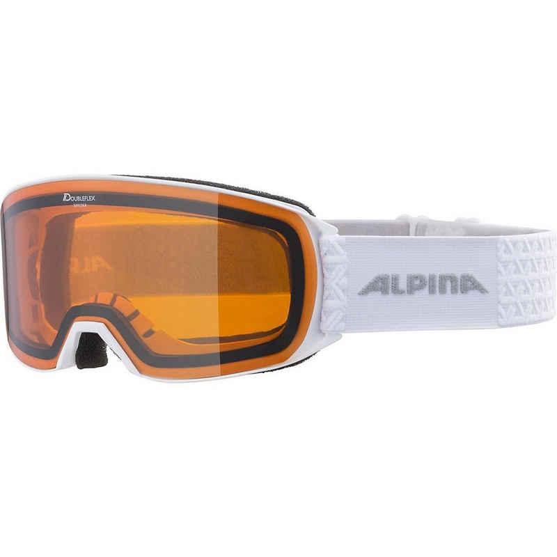 Alpina Sports Skibrille »Skibrille Nakiska D white«