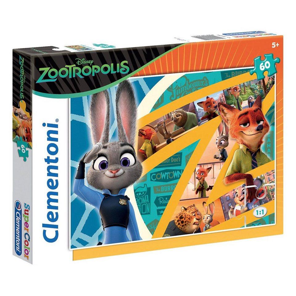 Clementoni Puzzle 60 Teile - Disney Zoomania