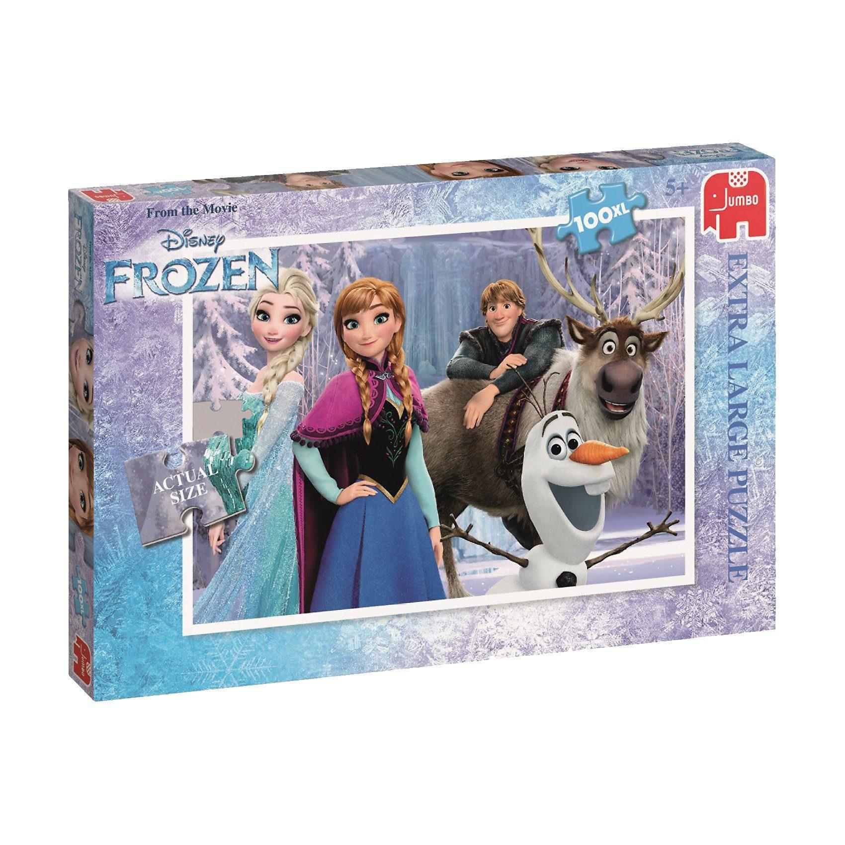 Jumbo Puzzle 100 XL Teile - Disney Frozen Die Eiskönigin