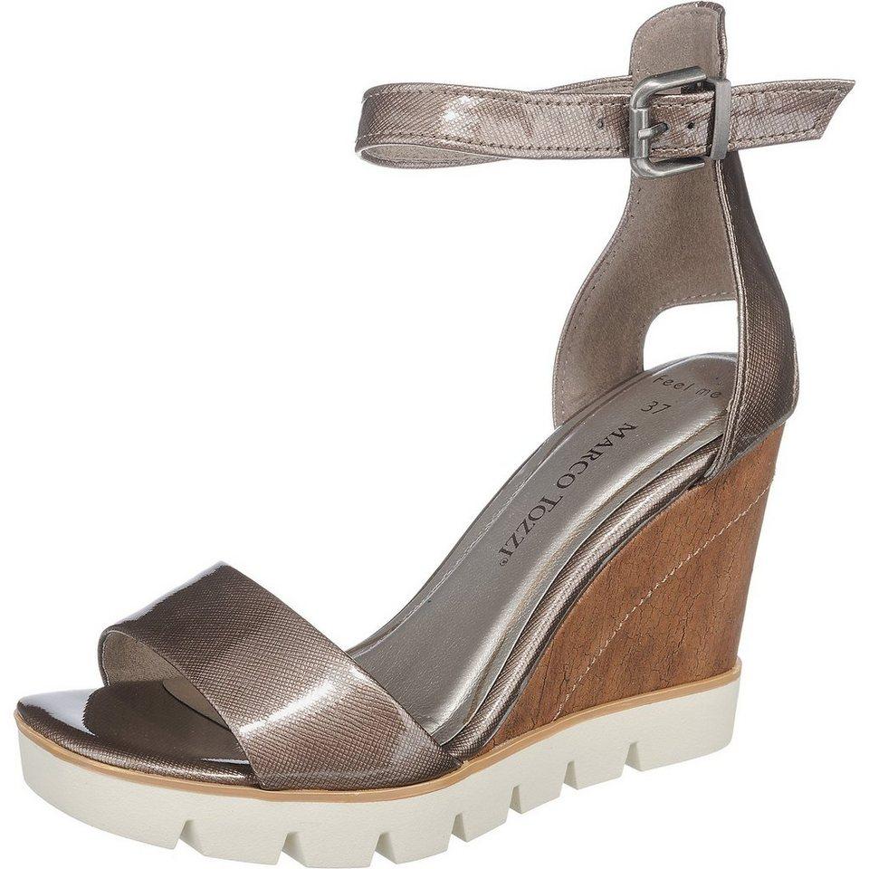 MARCO TOZZI Fess Sandaletten in braun