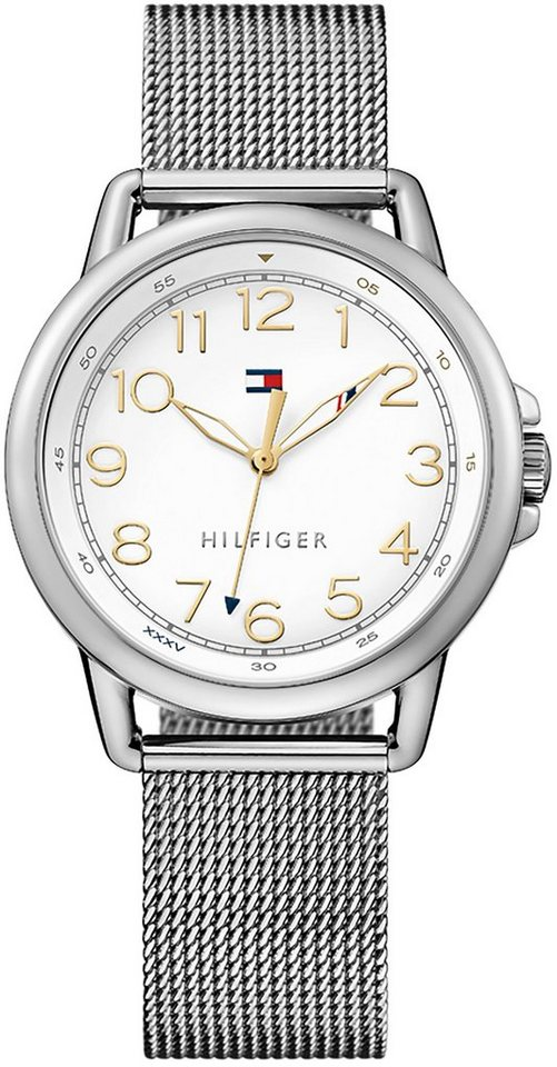 Tommy Hilfiger Armbanduhr, »CASUAL SPORT, 1781658« in silberfarben