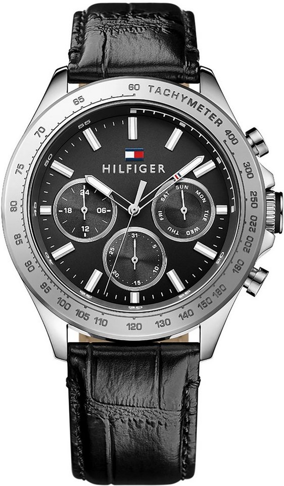 Tommy Hilfiger Multifunktionsuhr, »SOPHISTICATED SPORT, 1791224« in schwarz
