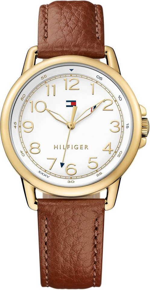 Tommy Hilfiger Armbanduhr, »CASUAL SPORT, 1781654« in braun