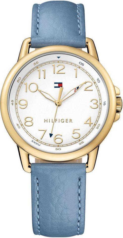 Tommy Hilfiger Armbanduhr, »CASUAL SPORT, 1781653« in blau