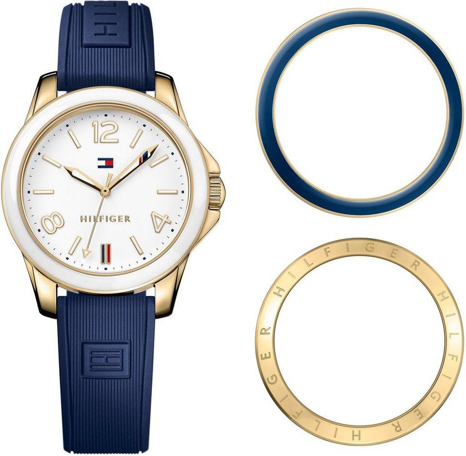 Tommy Hilfiger Armbanduhr, »CASUAL SPORT, 1781679« in blau
