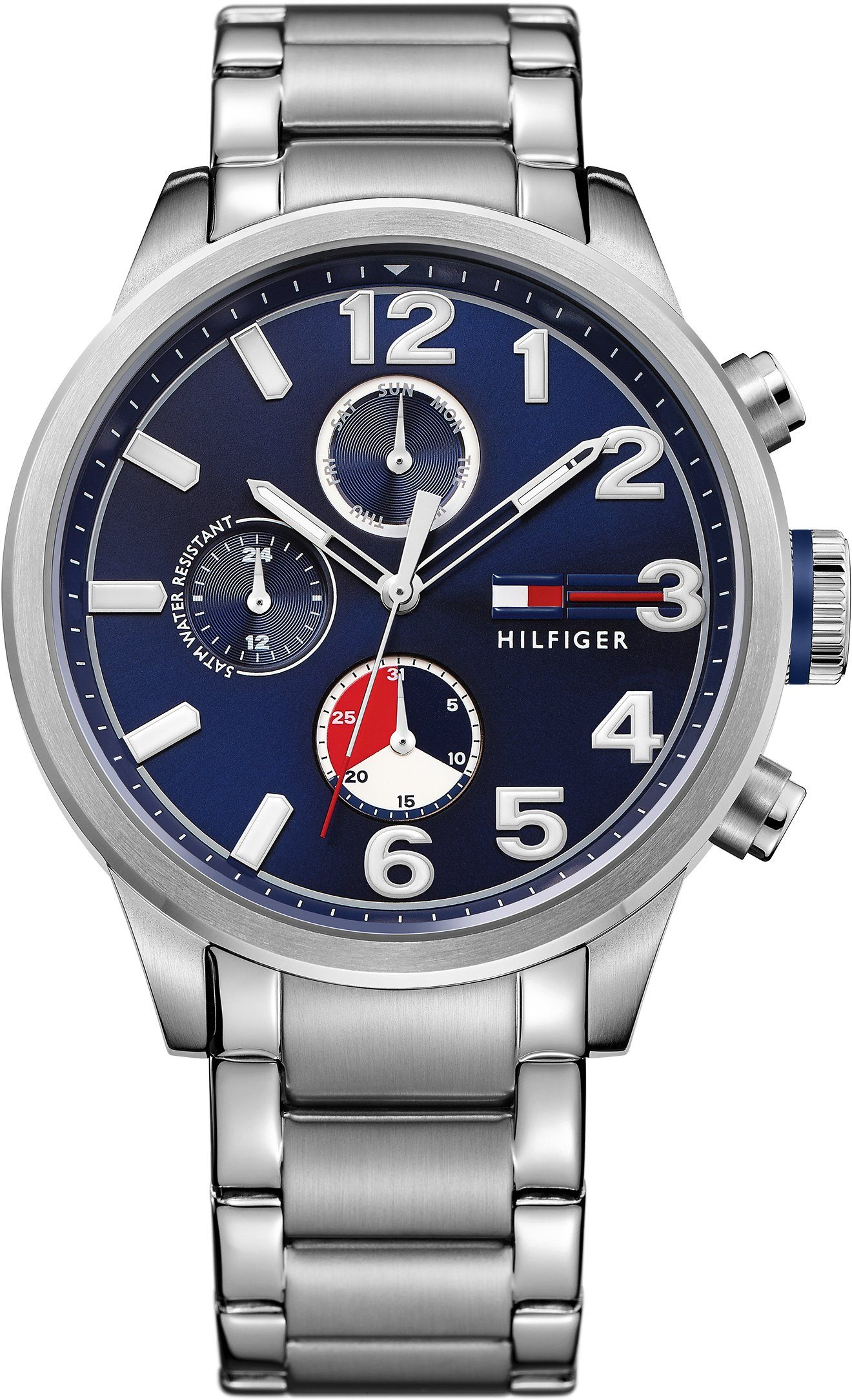 Tommy Hilfiger Multifunktionsuhr, »CASUAL SPORT, 1791242«