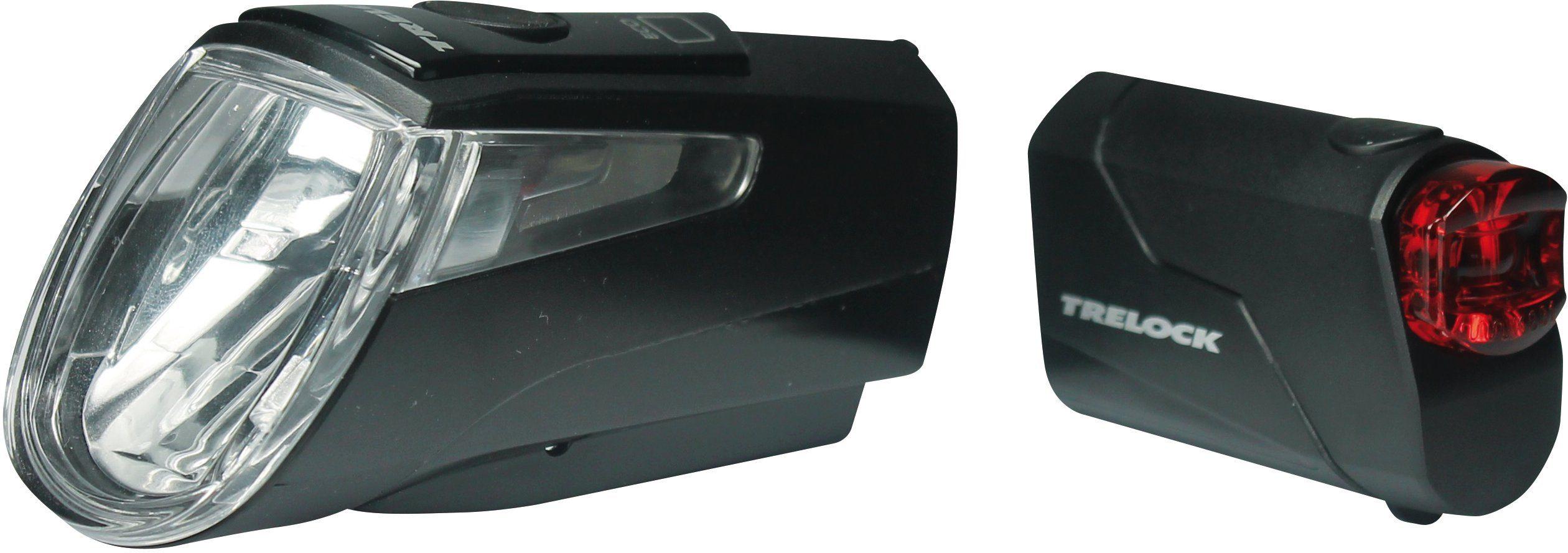 Trelock Fahrradbeleuchtung »LS 460 I-GO® POWER« (Set, Front- und Rücklicht)