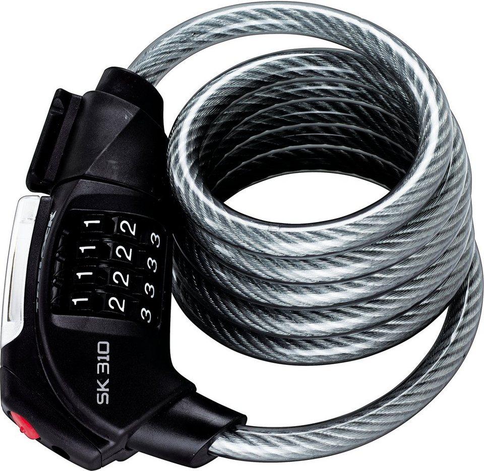 TRELOCK Dragon Line, Spiralkabelschloss, »SK 310 Code«