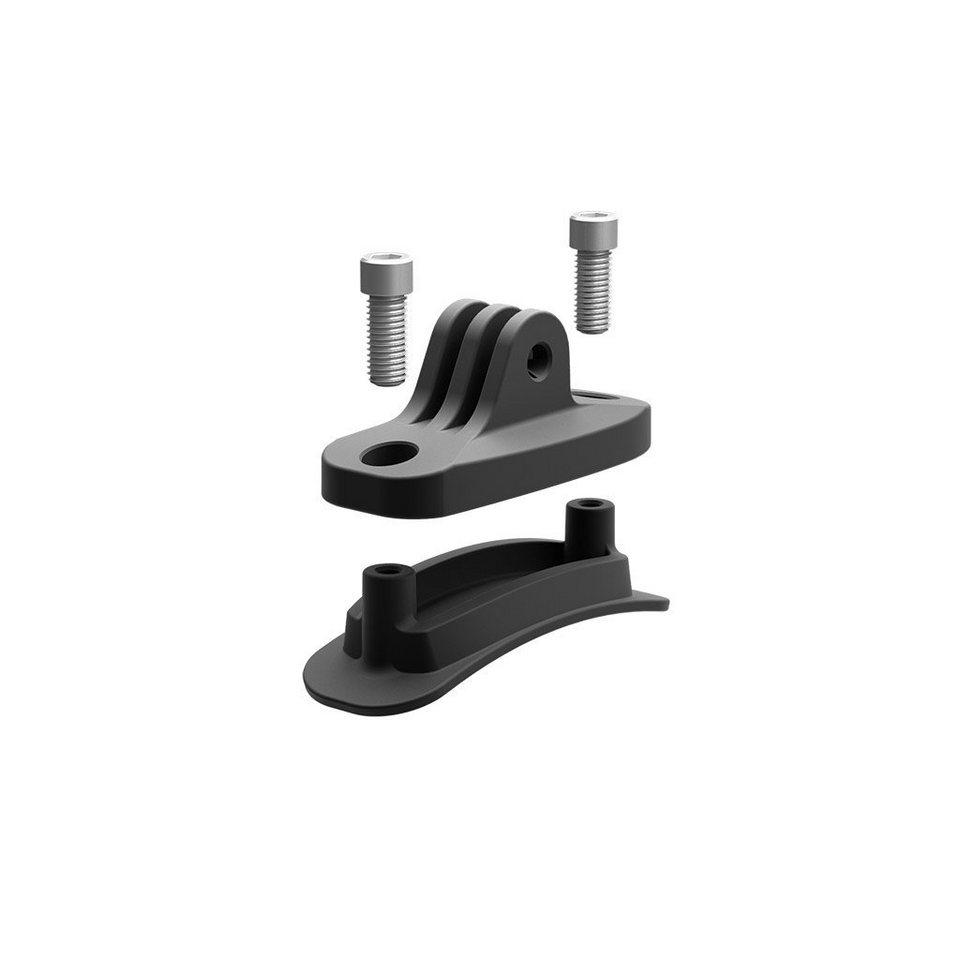 KED Fahrradhelm »Trailon Kamerahalterung« in schwarz