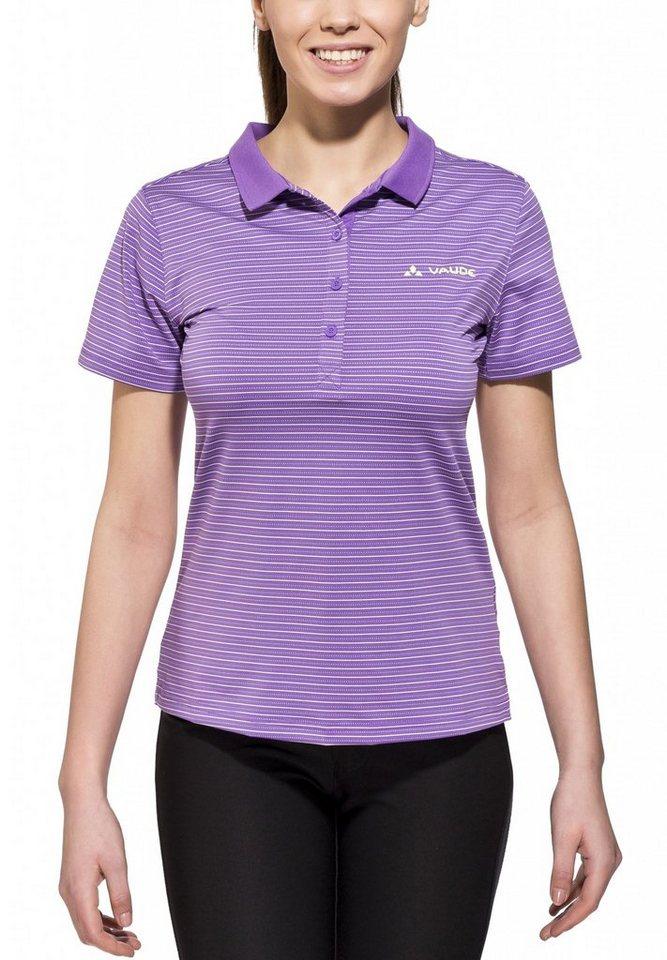 VAUDE T-Shirt »Dingle Polo Shirt Women« in lila