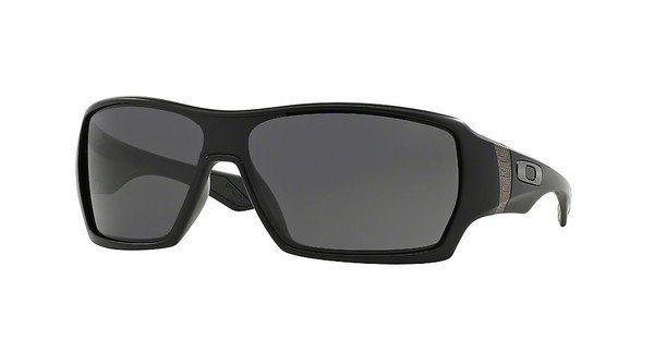 Oakley Herren Sonnenbrille »OFFSHOOT OO9190« in 919001 - schwarz/grau