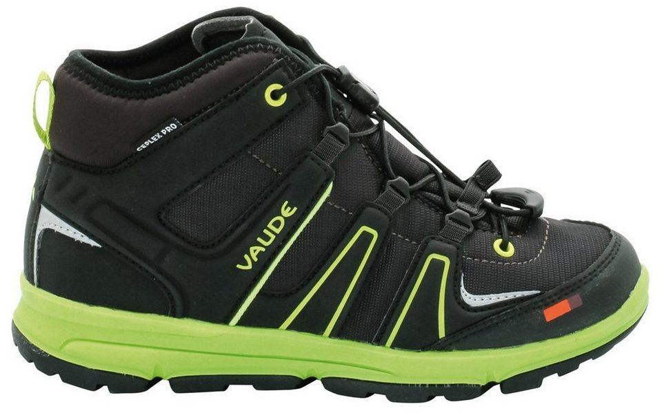 VAUDE Halbschuhe »Romper Mid Ceplex II Shoes Kids« in grau