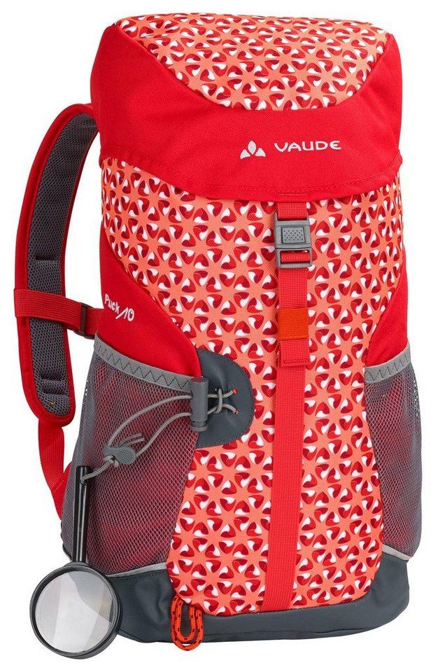 VAUDE Sport- und Freizeittasche »Puck 10 Backpack Kids« in rot