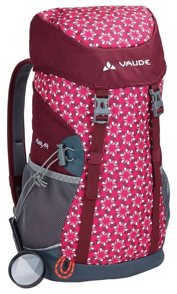 VAUDE Sport- und Freizeittasche »Puck 14 Backpack Kids« in lila
